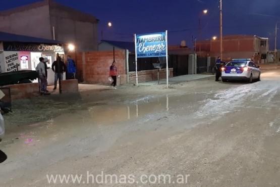 Local comercial donde ingresaron los delincuentes. (Foto: HD Pico Truncado)