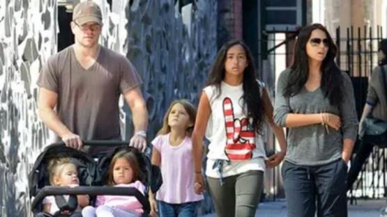 Matt Damon contó que una de sus hijas estuvo infectada por coronavirus