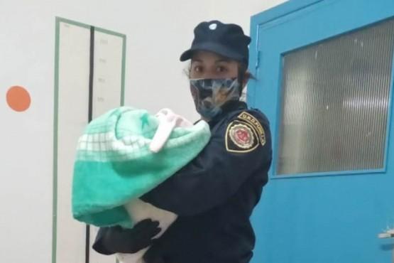 La pequeña fue rescatada en Villa Giardino