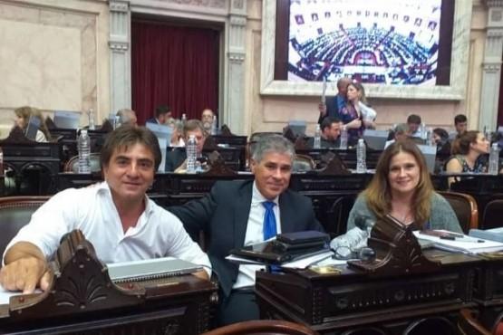 Vázquez, González y Vessvessian (foto archivo).