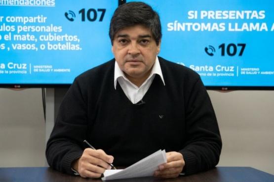 El subsecretario de Salud Colectiva, doctor Claudio García.