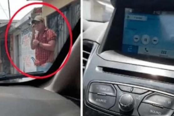 Con el Bluetooth conectado en el auto, lo llamó la amante y su esposa escuchó todo