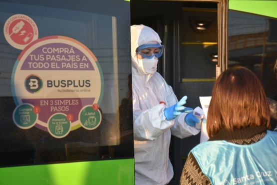 En Santa Cruz activaron protocolo por un estudiante que llegó de Córdoba