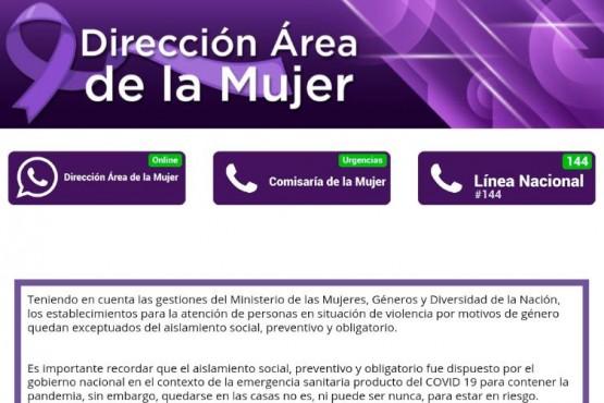 Nueva sección para la mujer en el sitio oficial del Municipio