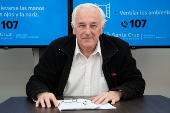 El ministro Juan Carlos Nadalich.