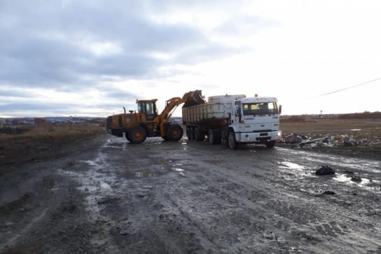 Dirección de Obras Viales realiza actividades de limpieza