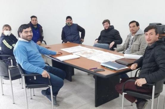 Abordaje territorial con la Junta Vecinal del Barrio Santa Cruz