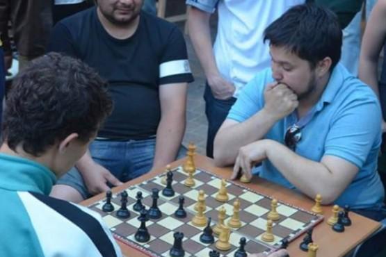 El jugador de la ADAR ganó tres partidas en el inicio del certamen.