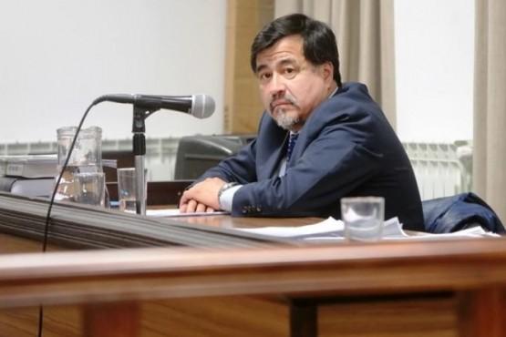 Iván Saldivia, fiscal.