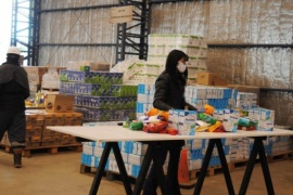 Se concretó la segunda entrega de alimentos donados por La Anónima