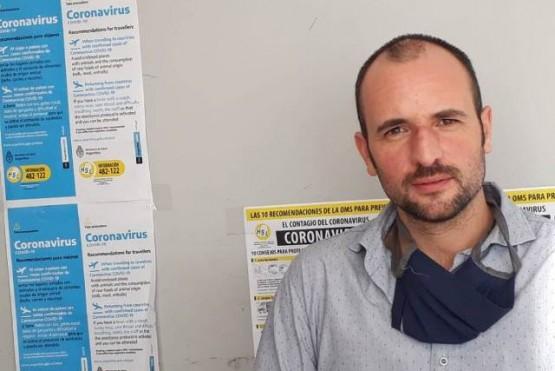 Elpresidente del cuerpo deliberativo local,Horacio Lavié.