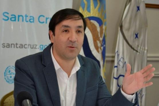 El intendente Pablo Grasso.