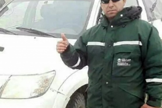 Detenido. Cristian Javier Rivero trabajaba hacía 8 años en la Reserva. (Foto: gentileza Diario del Cuyo)