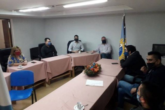 Españon se reunió con concejales por situación financiera municipal