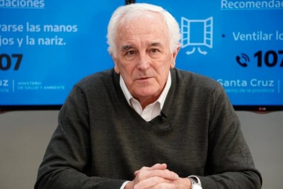 Juan Carlos Nadalich, ministro de Salud de la Provincia.
