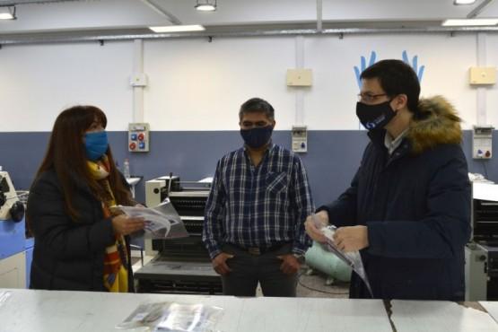 Entregaron máscaras de protección a Vialidad Nacional