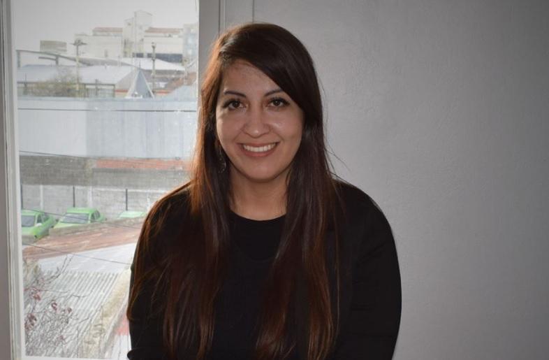 Victoria Aguilar.