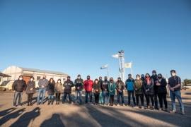 Gómez Bull articula trabajos con diferentes organismos en Las Heras