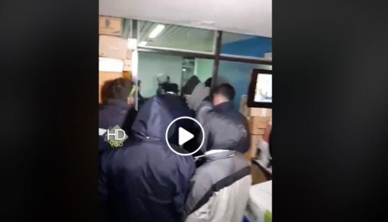 Reclamo de Municipales terminó con incidentes con la policía