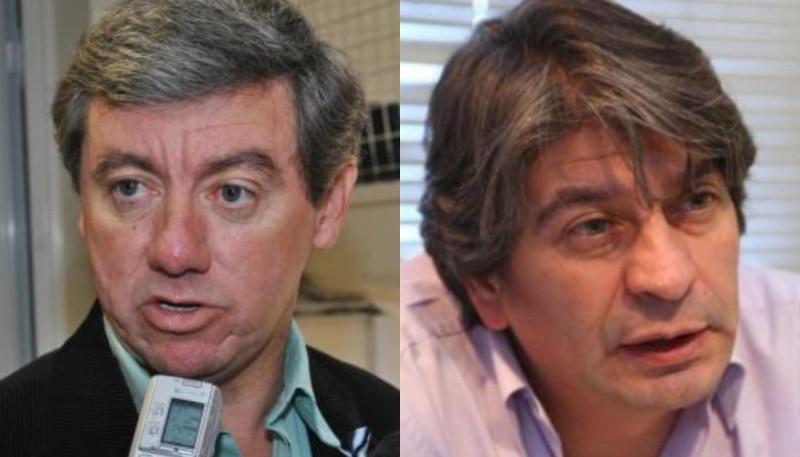 Arabel y Garrido, diputados del oficialismo y dejan trascender sus diferencias.