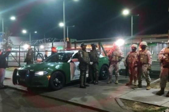 Masivo intento de saqueo a supermercado en Chile: nueve detenidos