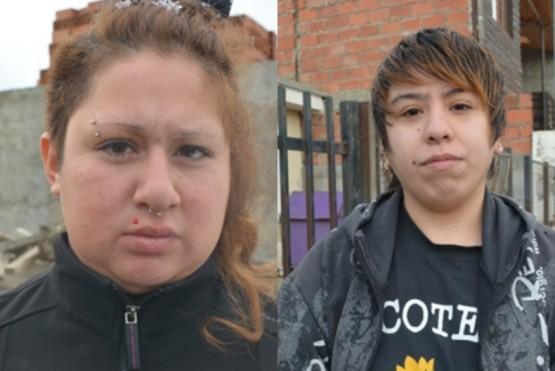 Yanina (izquierda) y Andrea (derecha) - Foto C.R.