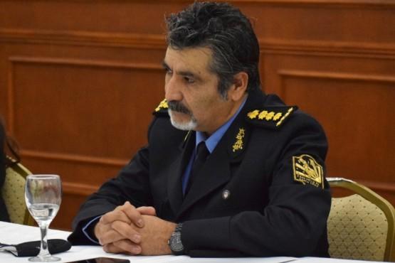El Jefe de la Policía, José Luis Cortés.