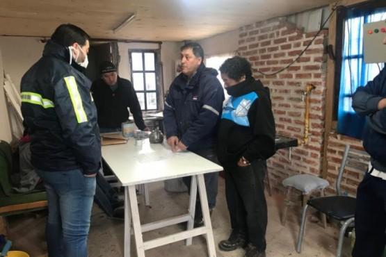 SPSE se reunió con la Junta Vecinal del Barrio Ayres Argentinos