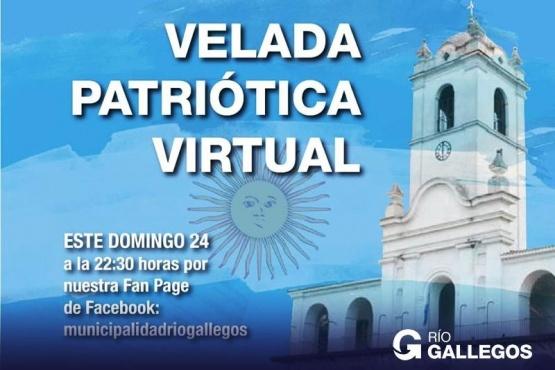 Un 25 de Mayo con velada patriótica virtual