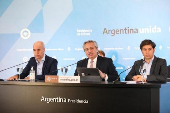 Alberto Fernández anuncia la nueva etapa de la cuarentena