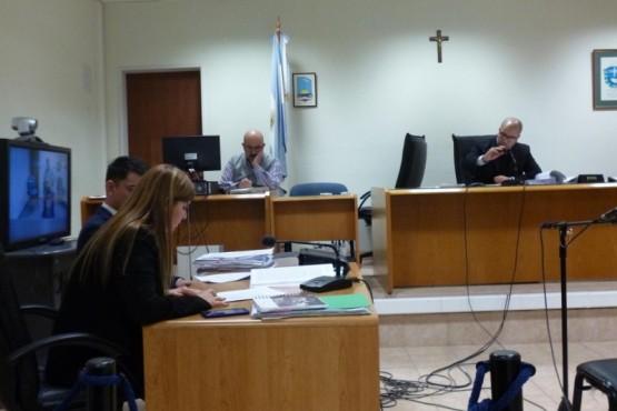 Audiencia de revisión de la prisión preventiva por el homicidio de Gastón Flores