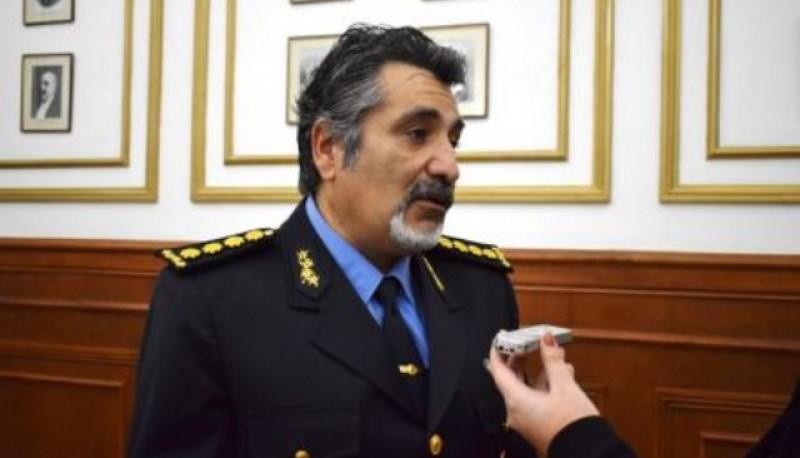 El jefe de la Policía, José Luis Cortes.