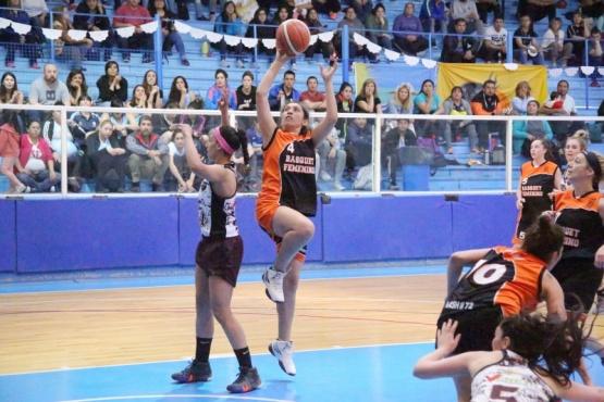 Las chicas del basquet.