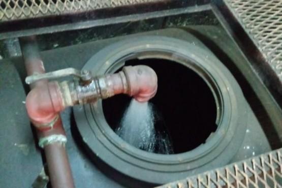 Se puso en funcionamiento la planta de líquido anti hielo del Puesto Fijo