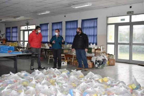 La Localidad recibió donaciones del Sindicato de Luz y Fuerza
