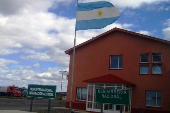 Paso Integración Austral (Foto archivo).