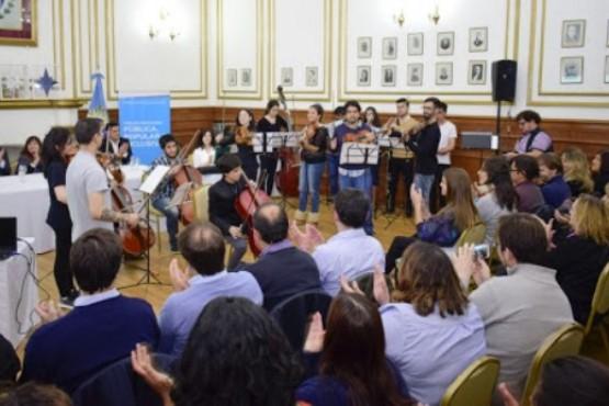Escuela de Música Re Si. (Archivo)