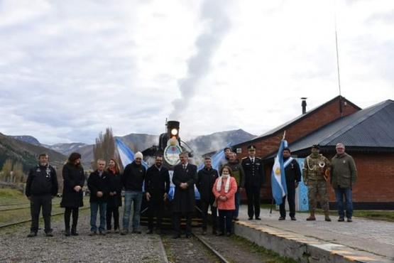 75° aniversario de la llegada de La Trochita a Esquel