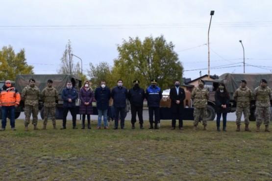 Seguridad y el Ejército Argentino trabajaron juntos para #CuidarAquienesNosCuidan