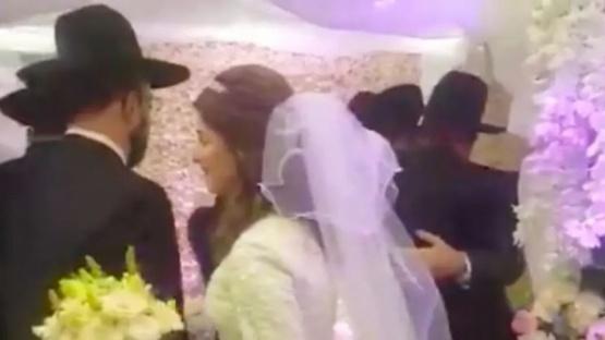 Casamiento en plena cuarentena: detuvieron a una pareja de novios