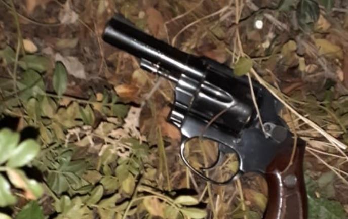 El arma fue encontrada.