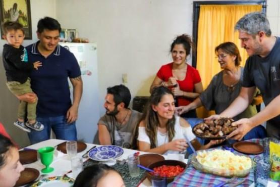 Las familias se pueden reunir durante fines de semanas y feriados.