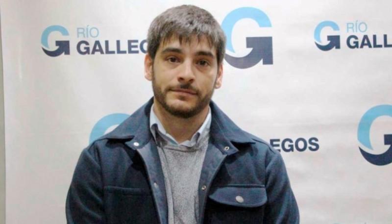 Lucas Otín, secretario de Obras Públicas