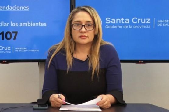 Dra. Ana Cabrera.