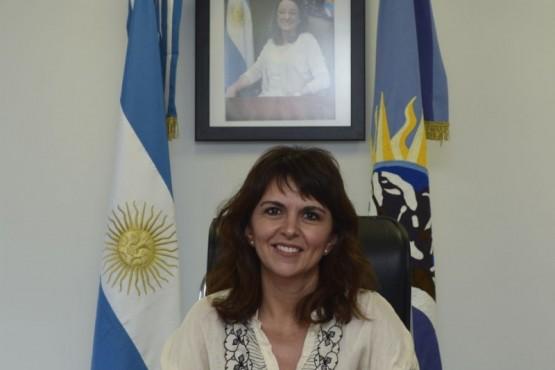 La ministra de la Producción, Comercio e Industria, Silvina Córdoba
