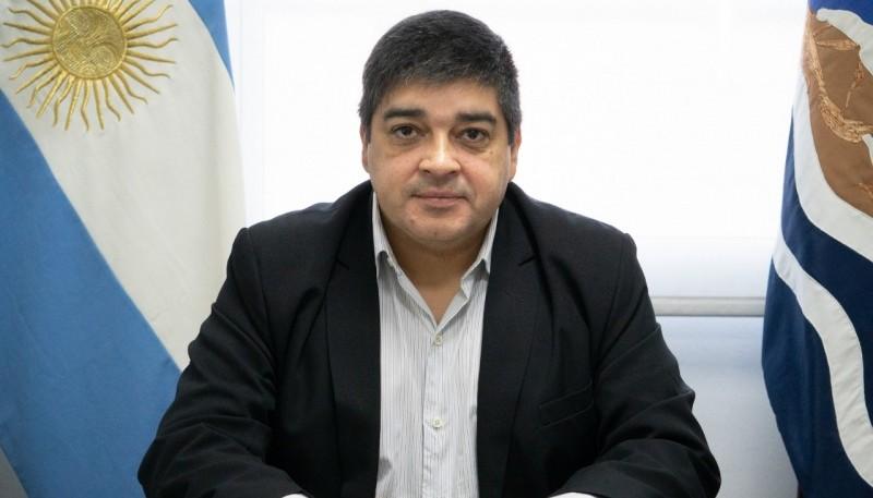 El subsecretario de Salud Pública del Ministerio de Salud y Ambiente de la provincia, doctor Carlos García.
