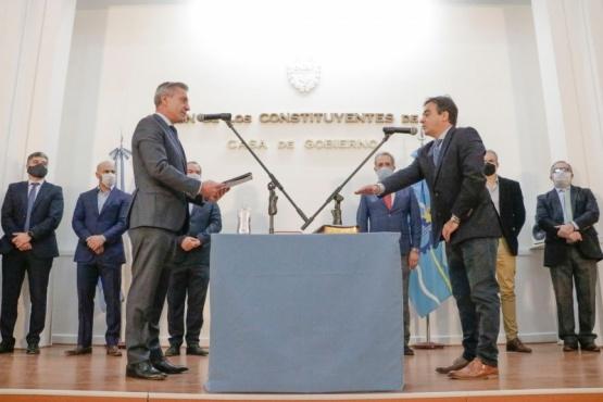 Arcioni tomó juramento a nuevos funcionarios provinciales