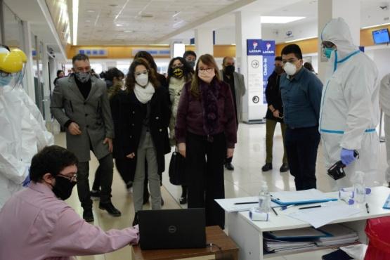 Gobierno instaló una cámara térmica en el Aeropuerto de Río Gallegos