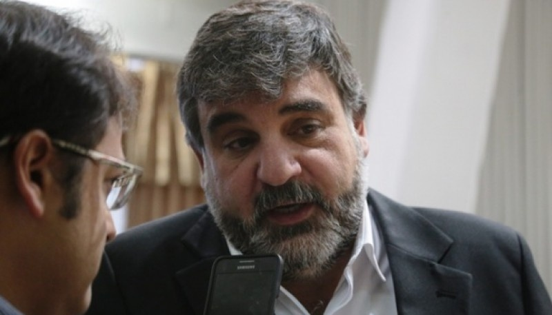 El intendente de Puerto San Julián, Daniel Gardonio