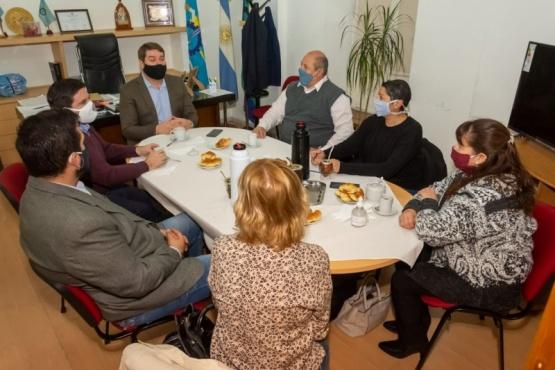 El intendente Biss se reunió con los concejales del oficialismo